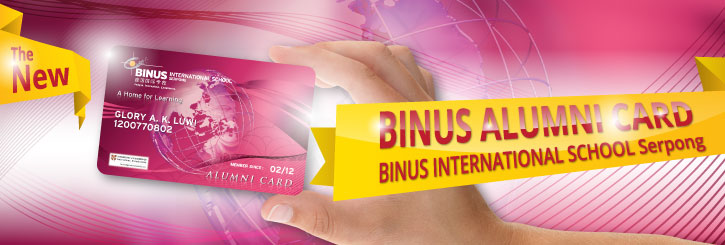 Launching BINUS Alumni Card