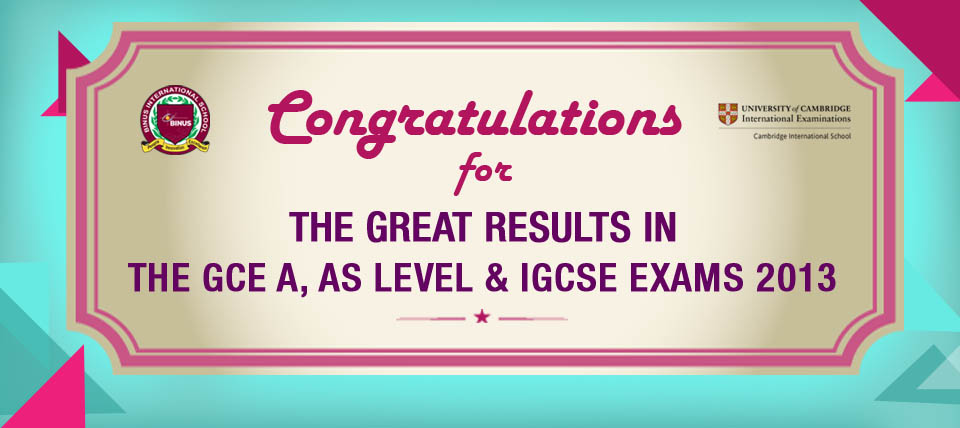 Outstanding CIE Results for June 2013