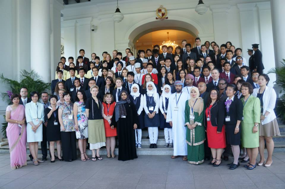 BINUS INTERNATIONAL SCHOOL Serpong at the Hwa Chong Asia - Pacific Young Leaders Summit