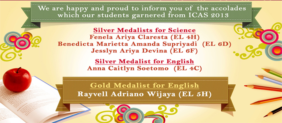 Congratulation to Students For Winner Silver Medalist for Science and English Categories