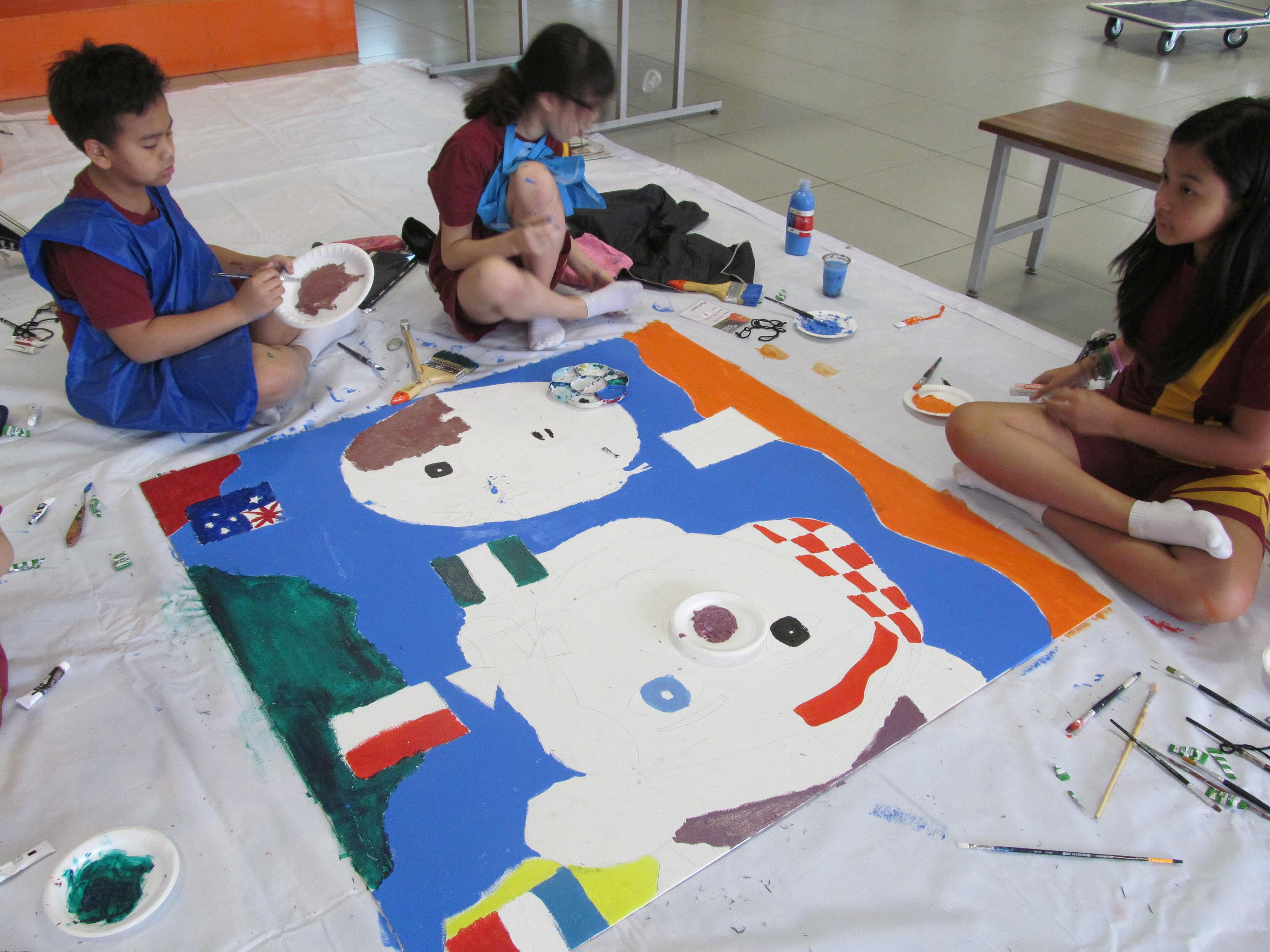 Action Mural Painting Interschool Competition