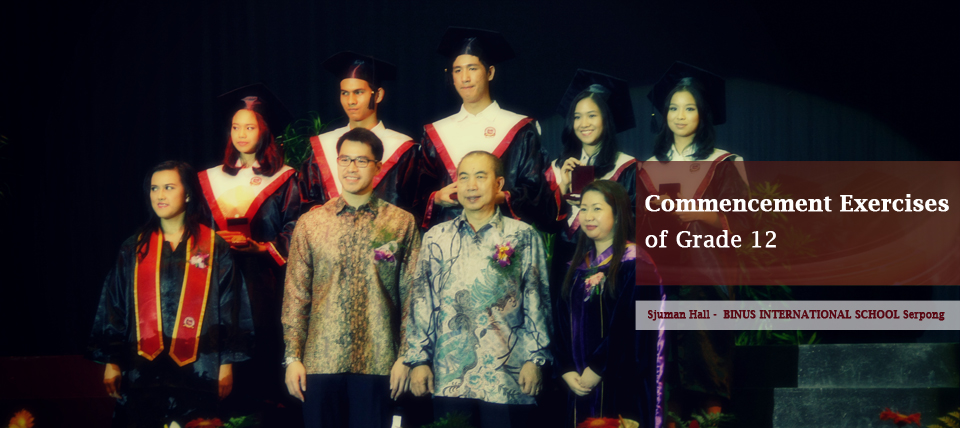 Commencement Exercises of Grade 12