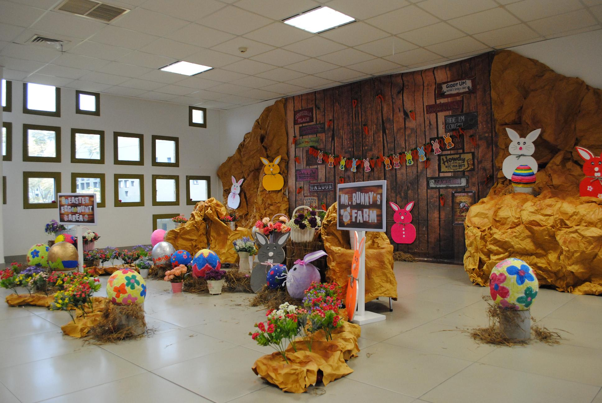 THE CHEERFULNESS OF EASTER AT BINUS SCHOOL SERPONG