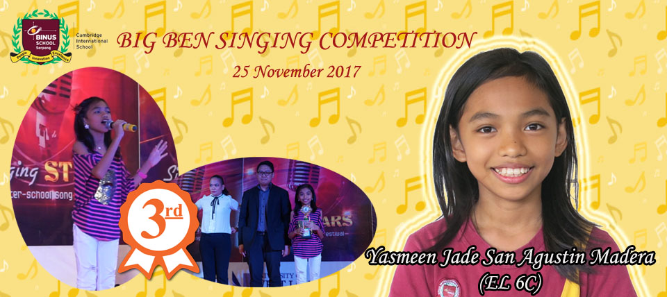 Big Ben Singing Competition