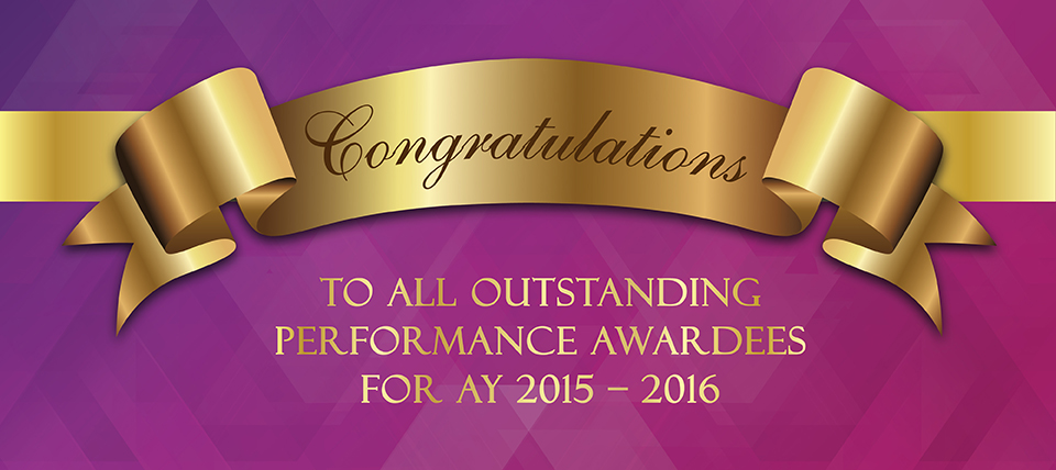 Outstanding Performance 2016