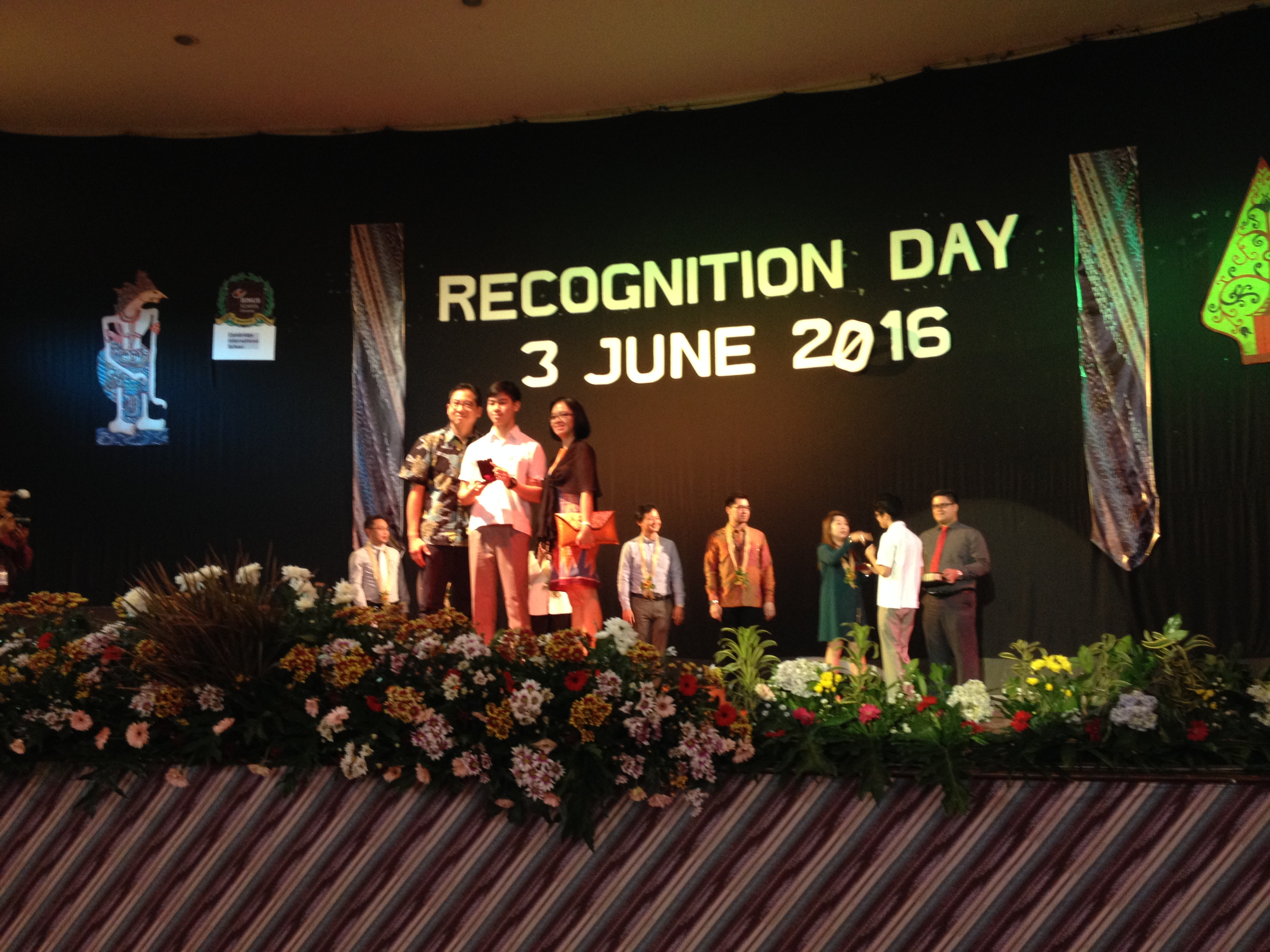 BINUS SCHOOL Serpong Recognition Day 2016