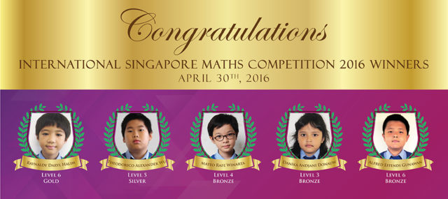 International Singapore Maths Competition 2016