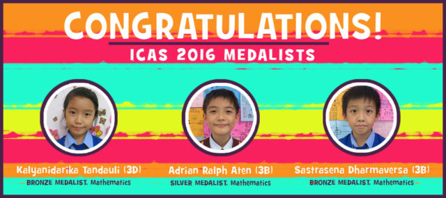 ICAS Medalists 2016