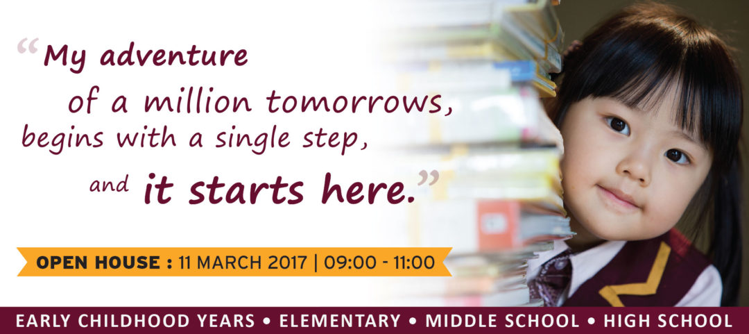 OPEN HOUSE 11 MARCH 2017