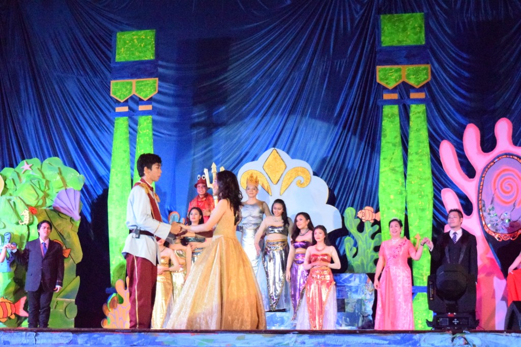 The Little Mermaid Production