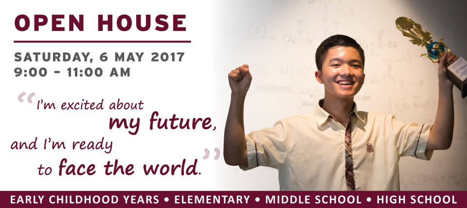 OPEN HOUSE 6 MAY 2017
