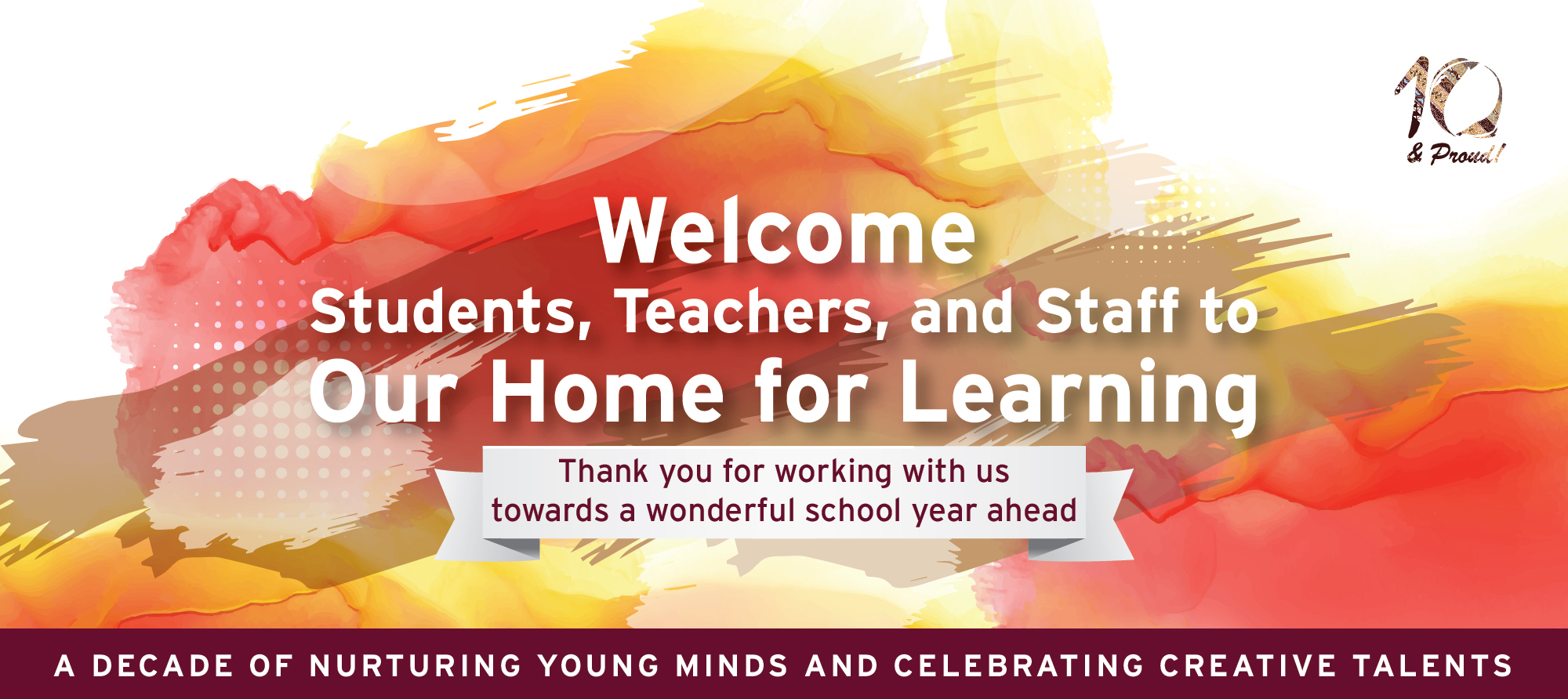 WELCOME STUDENTS, TEACHERS, AND STAFF
