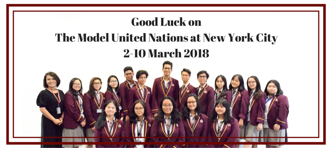 The Model UN of BINUS SCHOOL Serpong