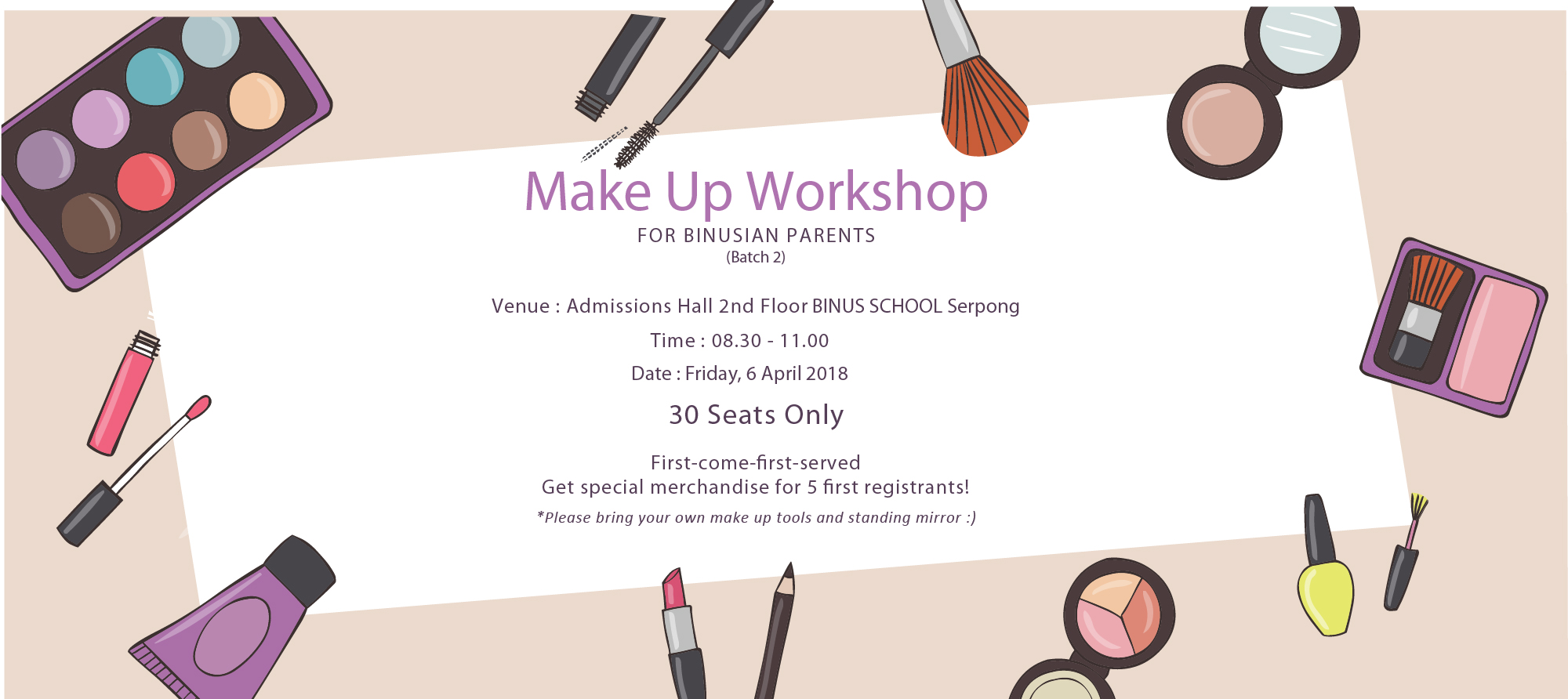 Make Up Workshop (Batch 2)