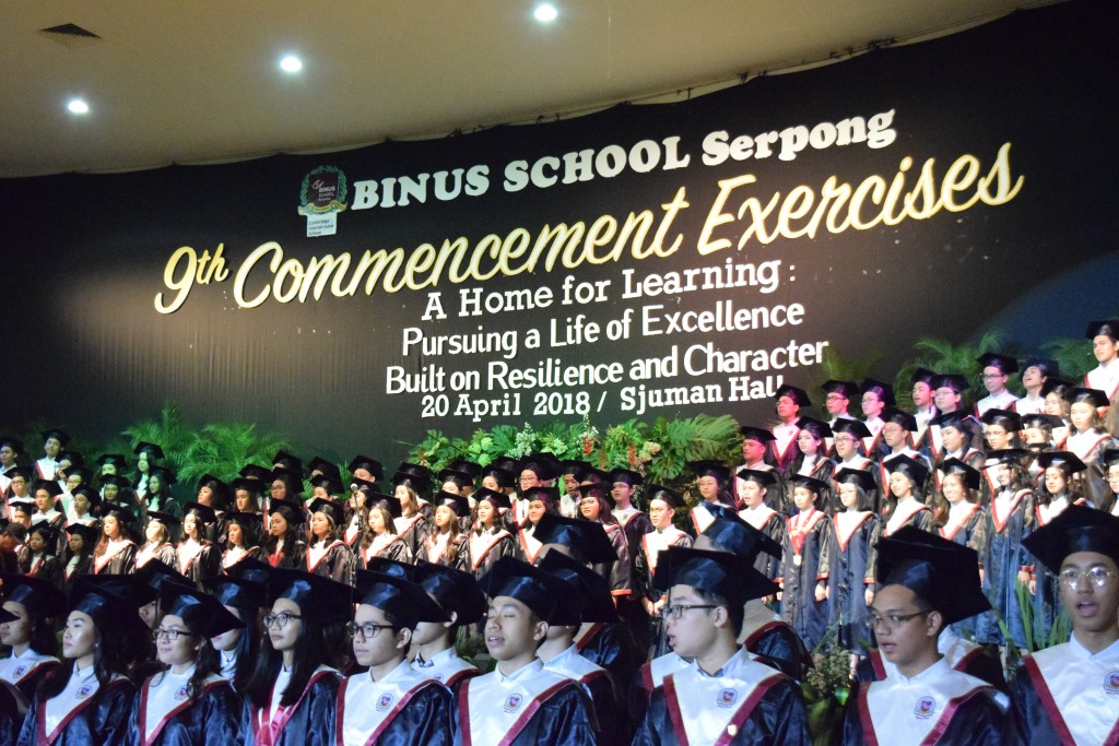 Pursuing Life of Exellence - 9th Commencement Exercises.