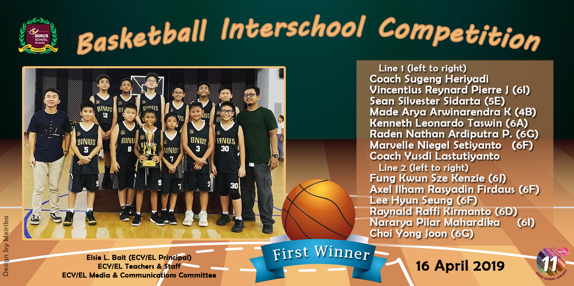 Basketball Interschool Competition