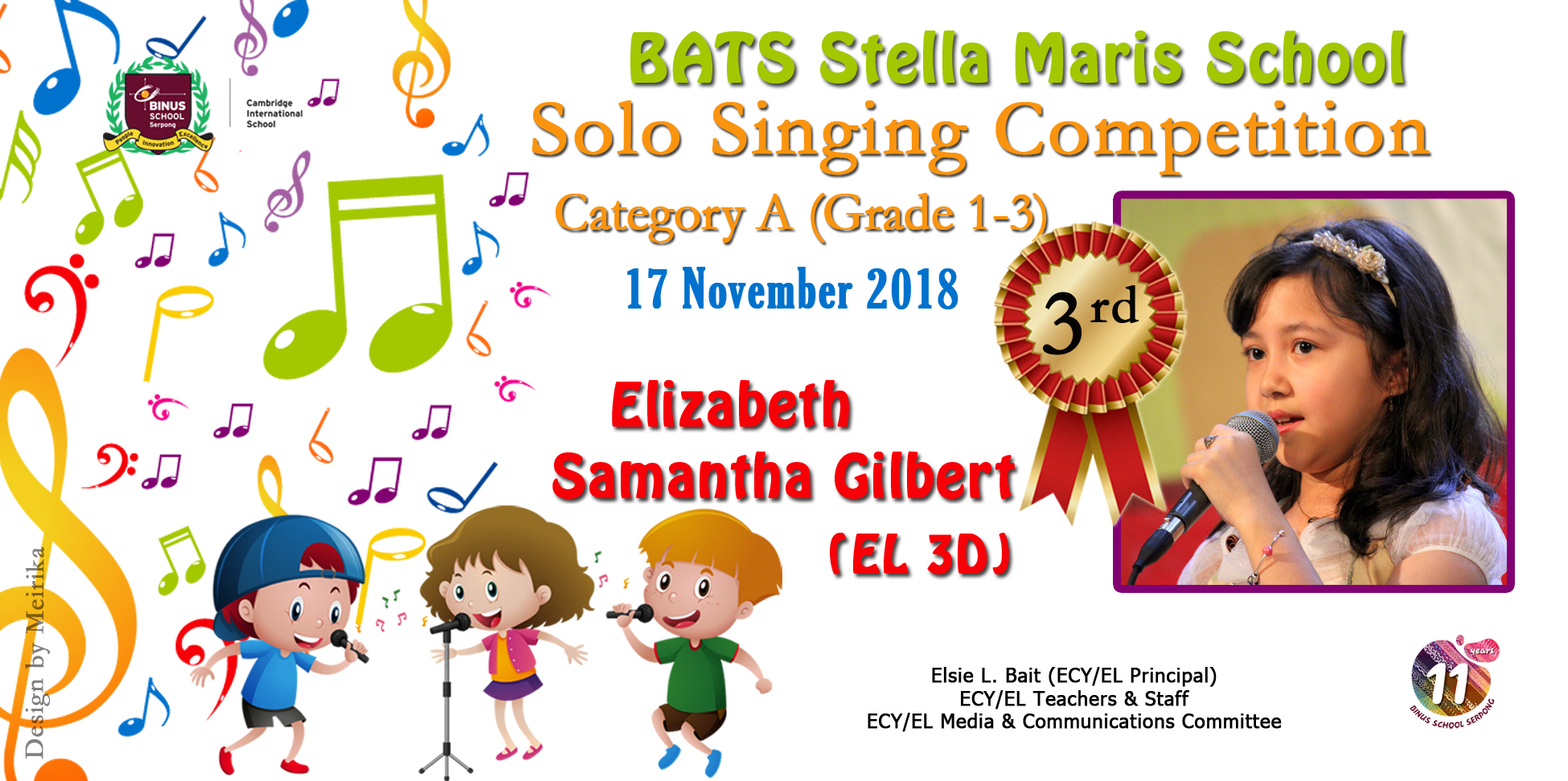 Stella Maris Singing Competition