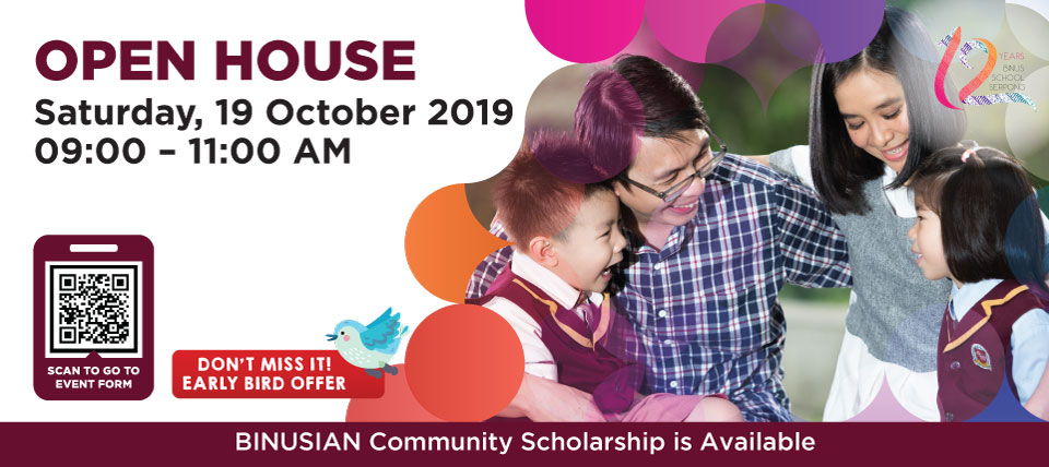 OPEN HOUSE 19 OCTOBER 2019
