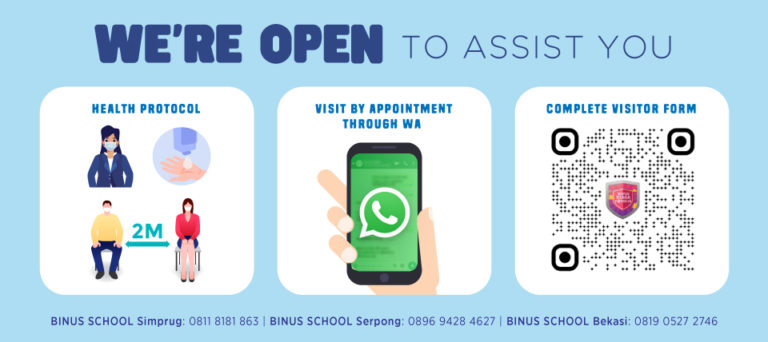 We're Open to Assist You