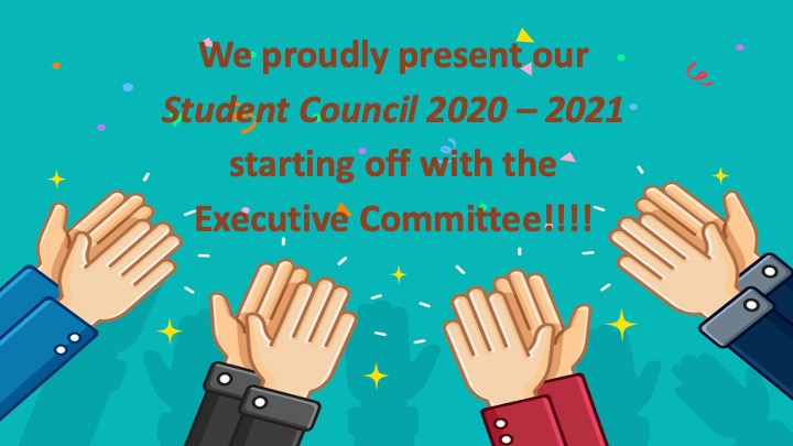 Welcome to our Elementary Student Council 2020 – 2021