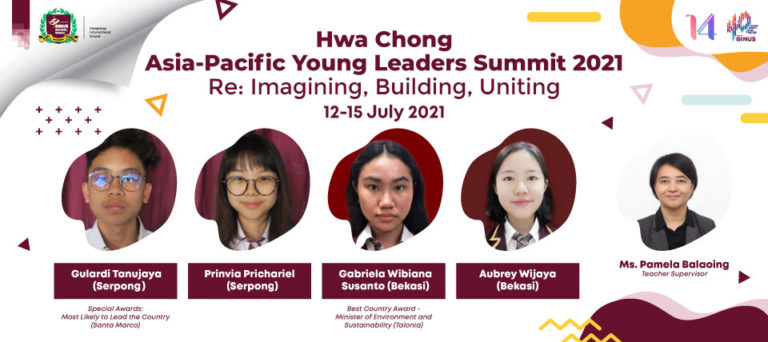 Hwa Chong Asia-Pacific Young Leaders Summit 2021